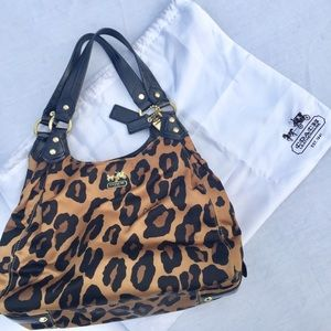 Coach | Madison Hobo Hand-bag in Leopard